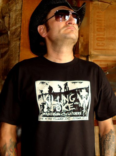 ASCENSION OF THE WATCHERS w Killing Joke t-shirt ~ SIZE 3XL fear factory city of fire