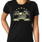 American Eagle Resistance Shirt - RESIST TRUMP RESIST FASCISM - Women's T Shirt SIZE M