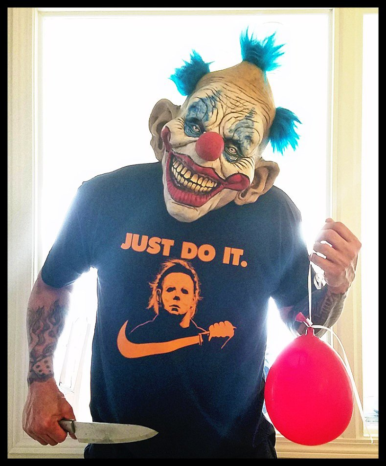 JUST DO IT. Michael Myers Halloween shirt - Premium Sueded T Shirt SIZE 3XL