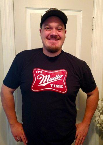 IT'S MUELLER TIME shirt - Premium Sueded T Shirt SIZE L