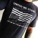 UNITED WE STAND citizens for a fascist free america Vote- Premium Sueded T Shirt SIZE M
