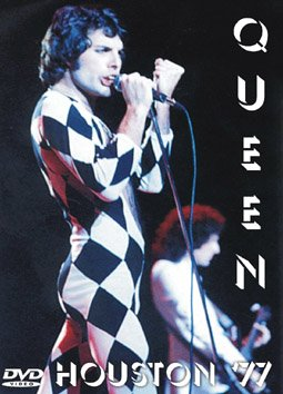 Queen Live in Houston 1977 Rare DVD Region Free EX quality
