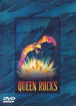 QUEEN ROCKS VERY RARE DVD VIDEO PERFECT QUALITY