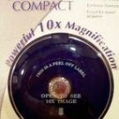 10X POWERFUL MAGNIFICATION Compact Mirror