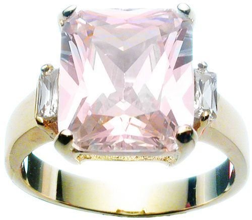 Rhodium Plated Jlo Wedding Ring (any size)