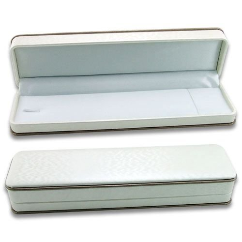 White Brocade Multi-purpose Plastic Box