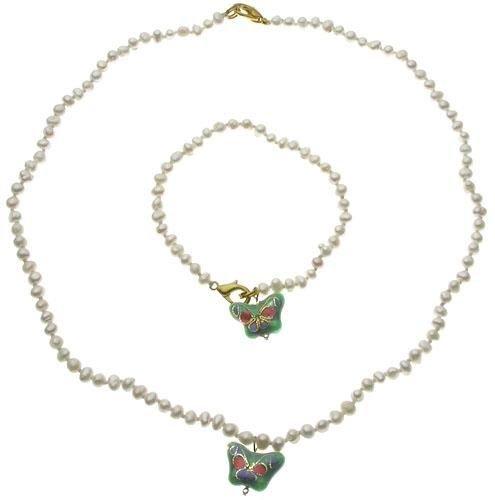 Genuine 4mm Baby Pearl Sets