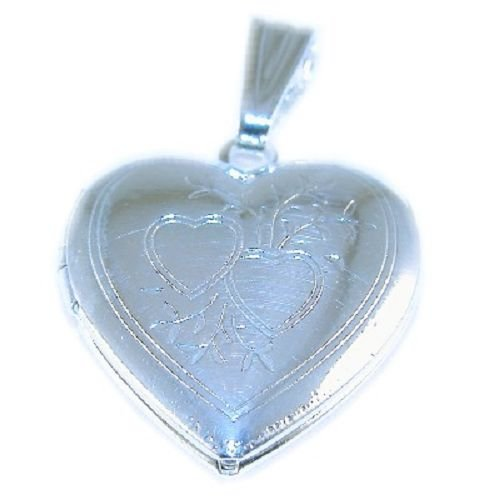 Sterling silver Plated Heart Locket
