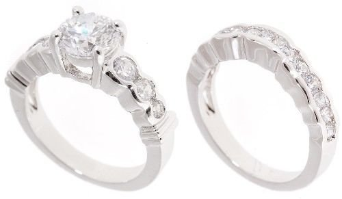 18k Gold Plated Wedding ring set (any size)
