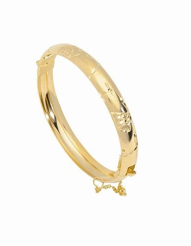 18K Gold Laminate Bangle