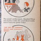 Vintage Shredded Wheat color print ad