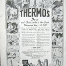 Vintage 1916 Thermos full page ad