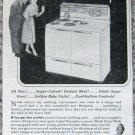 Vintage 1953 Hotpoint Pushbutton Range print ad