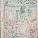 Corticelli Home Needlework magazine 1898 art needlework