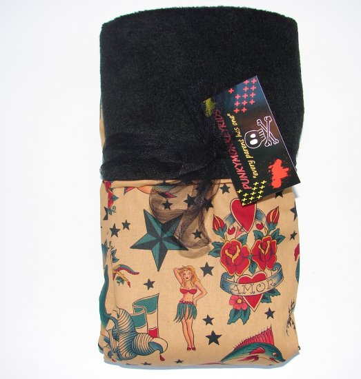 NEW PUNKY STYLE TATTOO BLANKET
