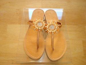 Cocobelle Sun Tangerine Sandals    Size: 6 1/2-7 Super Sale $35