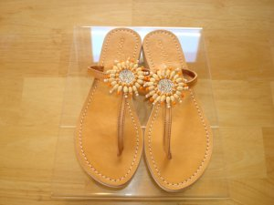 Cocobelle Sun Tangerine Sandals    Size: 8 1/2-9  Super Sale $35