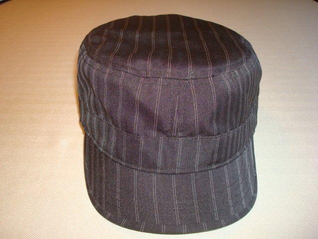 Goorin Brothers Hat Black w/Wht Stripe   Size:   L             $19