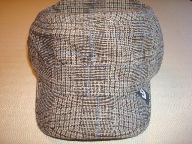 Goorin Brothers Hat Brown w/ plaid pattern  Size:   L            $19