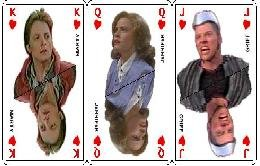 Deck of BTTF2 Playing Cards