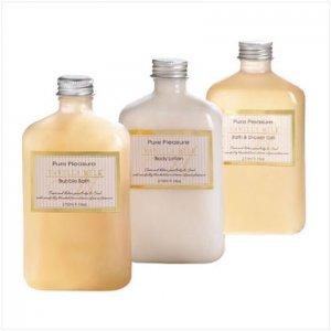 vanilla milk bath set    36399