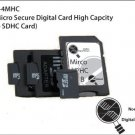 4GB Micro Secure Digital Card High Capcity (Mirco SDHC Card) - MS-KI-4MHC