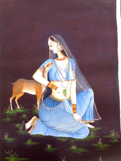 Ragini with Deer