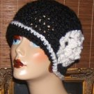 A Variety of Original Crocheted Elegant Edwardian Style Cloche Flapper Hats