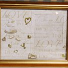 50th Wedding Golden Anniversary Picture/Photo Frame 2054