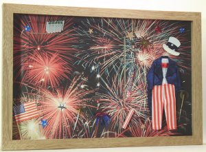 4th of July Picture/Photo Frame 5028