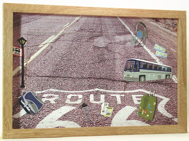 Bus Trip Picture/Photo Frame 11-205