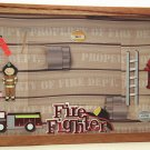 Fire Fighter Picture/Photo Frame 7140