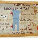 Scrub Nurse Picture/Photo Frame 7186