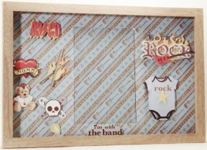 Baby Rock & Roll Picture/Photo Frame 1063