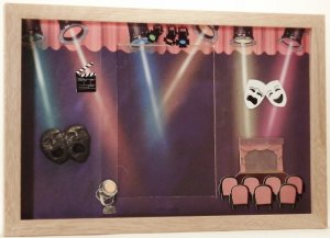 Theater/Stage Picture/Photo Frame 3439