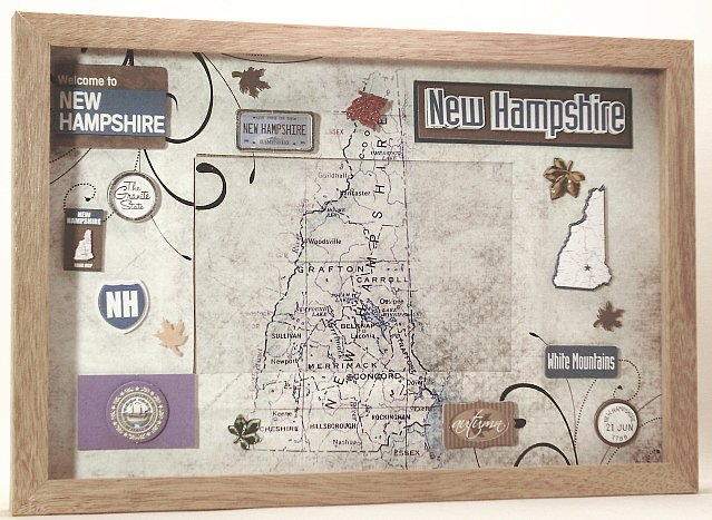 New Hampshire Picture/Photo Frame 11-193