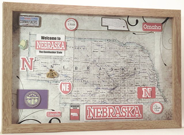 Nebraska Picture/Photo Frame 11-192