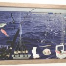 Deep Sea Fishing Picture/Photo Frame 8115