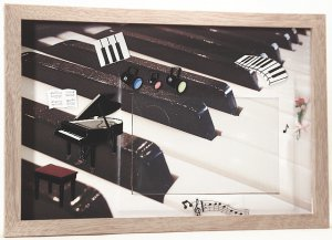 Piano Picture/Photo Frame 3408