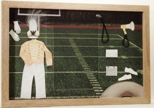 Marching Band Yellow/Gold Picture/Photo Frame 3444