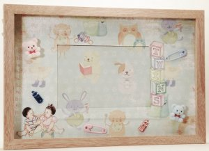 Twin Boy & Girl Picture/Photo Frame 1061