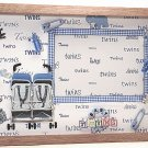 Twin Boys Picture/Photo Frame 1058