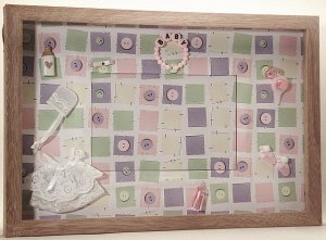 Baby Girl Picture/Photo Frame 1049