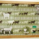 Sheep Picture/Photo Frame 9258