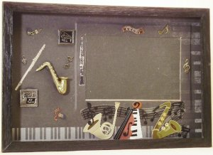 Jazz Picture/Photo Frame 3456