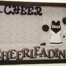 Cheerleader-Black Picture/Photo Frame 10-634