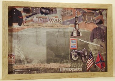 Civil War 4x6 Picture/Photo Frame 6112