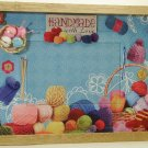 Knitting Crocheting Themed Picture/Photo Frame 21-006
