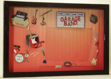Garage Band Picture/Photo Frame 3470