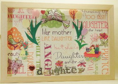 Daughter Picture/Photo Frame 3568